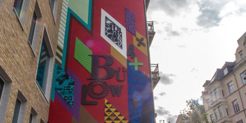 maling af facade, gavlmaleri, skolen ved bülowsvej, faceaderenovering